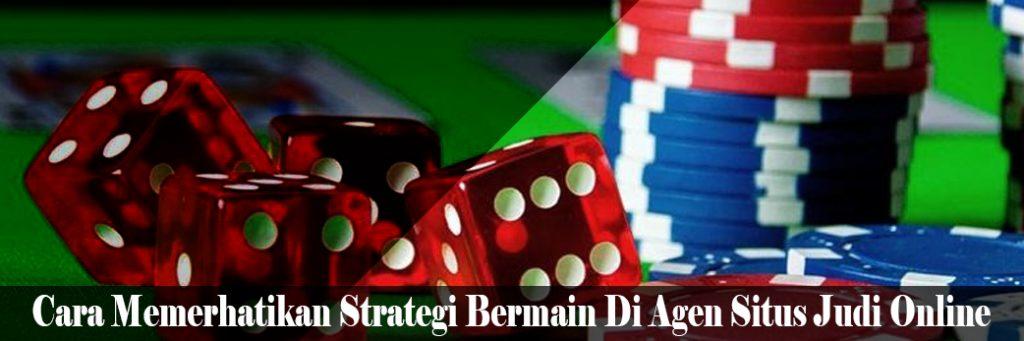 Strategi Bermain Situs Agen Judi Online Slot Pulsa